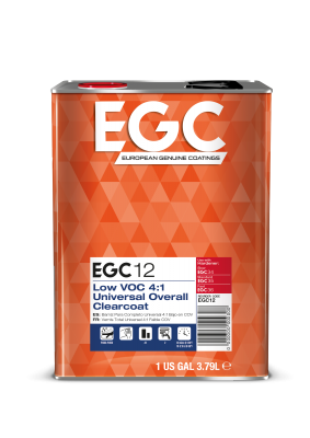 EGC12 Low VOC 4:1 Universal Overall Clearcoat
